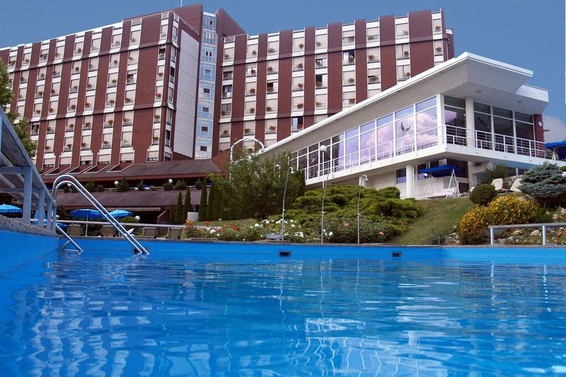 Hotel Aqua Hévíz - külső medence