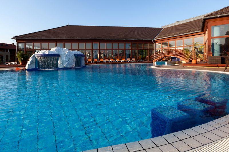 Greenfield Hotel Bükfürdő - kültéri medence