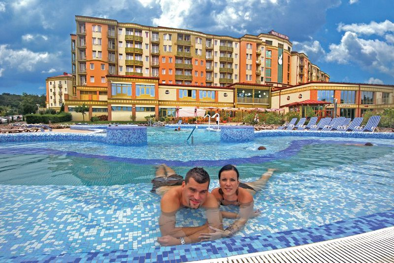 Hotel Karos Spa Zalakaros - kültéri élménymedence