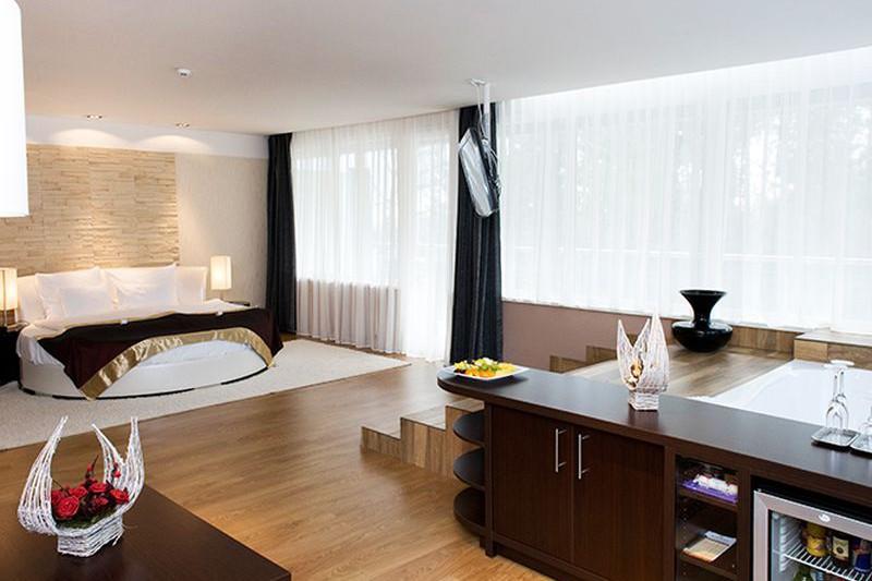 jacuzzis lakosztály - Residence Hotel Ózon Mátraháza